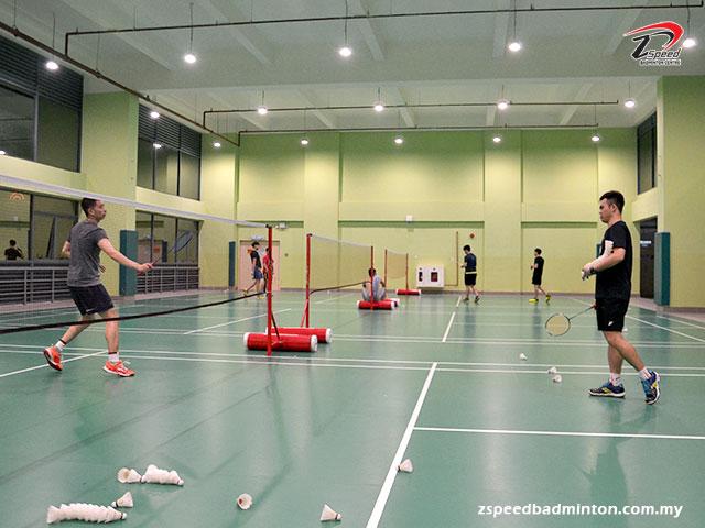 Adults Badminton Training Group at First City University College, Petaling Jaya | Z Speed Badminton Centre