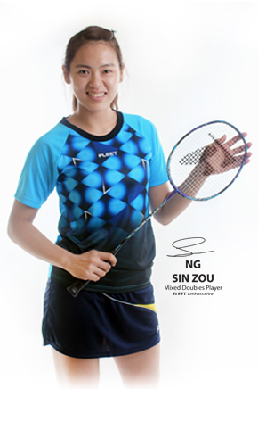 Joelle Ng Sin Zou | Z-Speed Badminton Training Centre