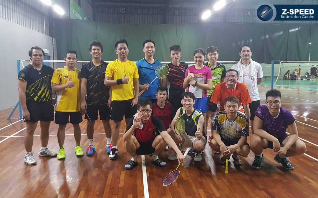 Badminton Training Adult Classes