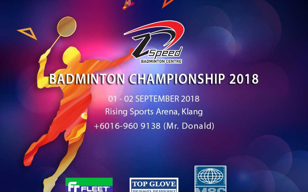 Z Speed Badminton Championships 2018
