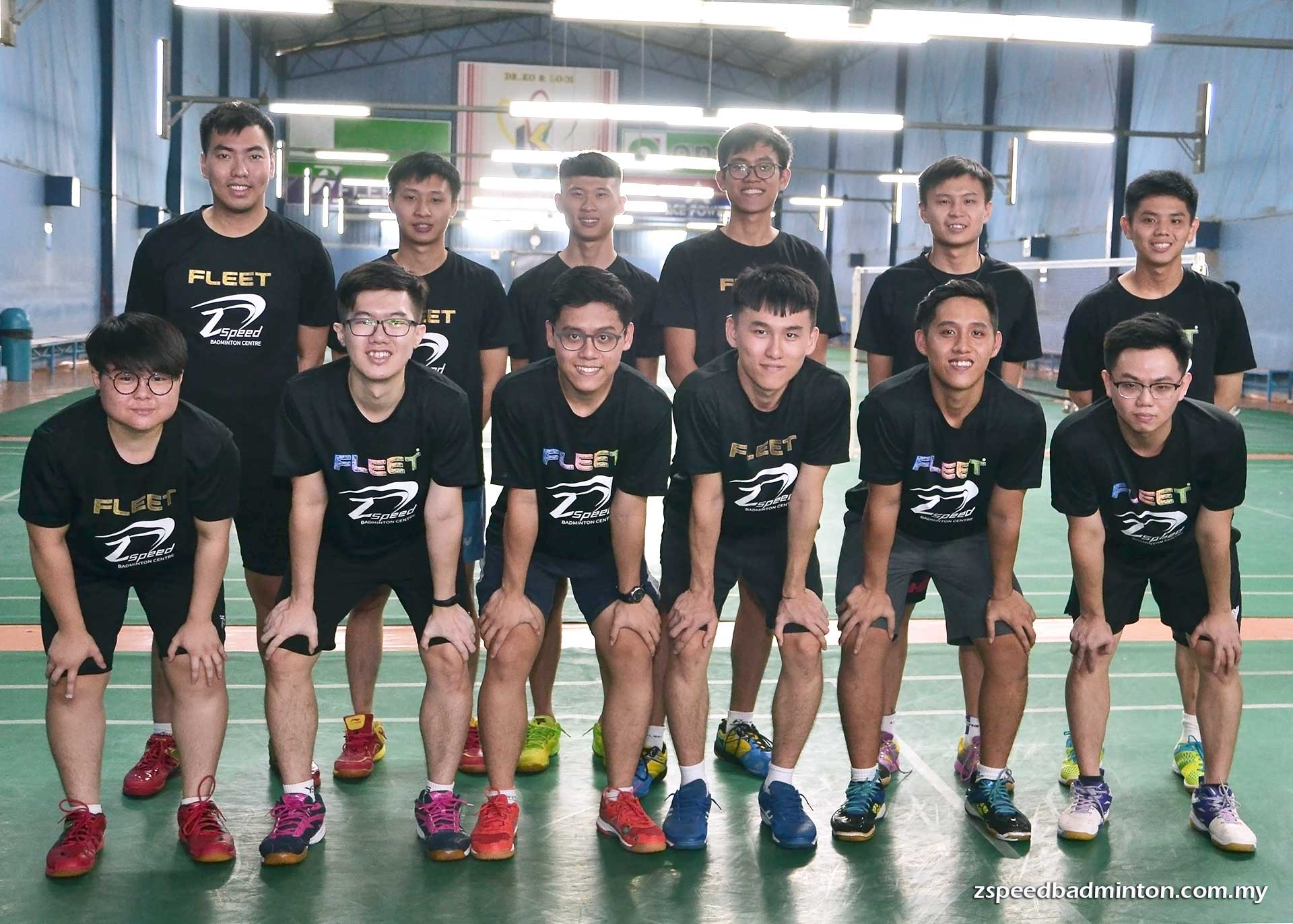 Z Speed Badminton Coaches Team